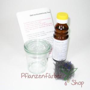 Eisenacetat-Beize / Set für 0,1L mit Glasbehälter